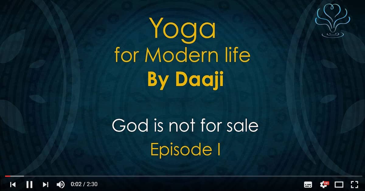 Yoga for modern life by daaji